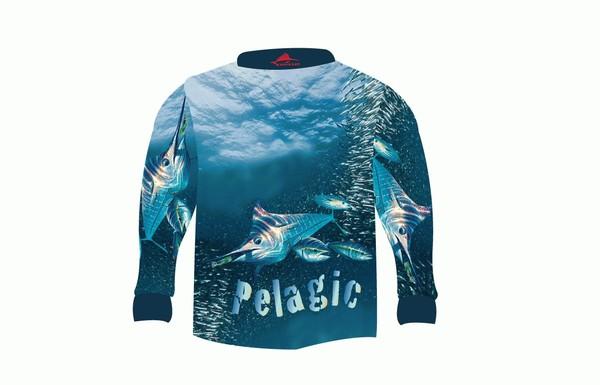 Kamikaze Pelagic Fishing Shirt 4xl Consignment