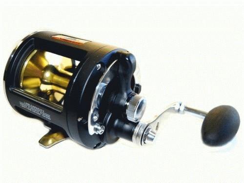 Kamikaze kamld20 lever drag black game fishing reel ebay for Reel fishing game