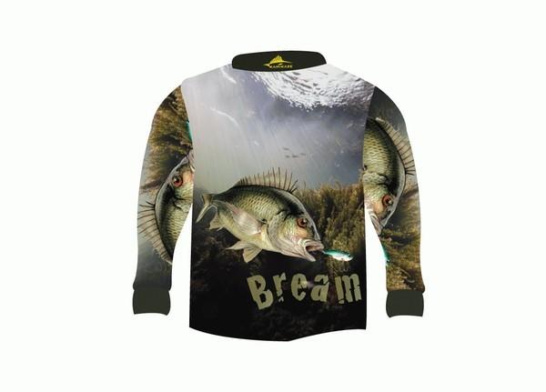 Kamikaze bream fishing shirt 4xl ebay for 4xl fishing shirts