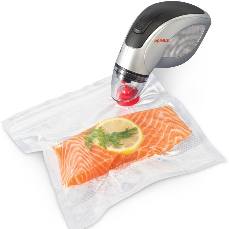 Sous Vide Vacuum Sealer The Sous Vide Vacuum Sealer is designed specifically to prepare food for sous vide cooking, but also works as an everyday sealer for packaging any food to retain freshness.