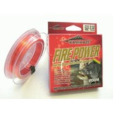 Bluewater FIREPOWER Super Line 200m 12lb Red & Yellow