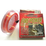 Bluewater FIREPOWER Super Line 200m 15lb Red & Yellow
