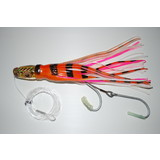 """KAMIKAZE - INDIAN DANCER 10"""" RIGGED GAME TROLL LURE - F"""