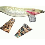 Kamikaze - Abalone Squid Jig Skin Reflectors Large - 2 Pk (SQUID JIGS NOT INCLUDED)