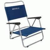 Beach Chair With Arms - Blue