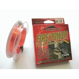 Kamikaze FIREPOWER Super Line 150m 4lb Red & Yellow