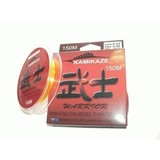 Kamikaze WARRIOR Japanese SuperGradeLine 150m 10lb ORANGE