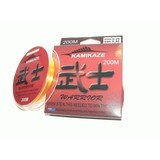 Kamikaze WARRIOR Japanese SuperGradeLine 200m 12lb ORANGE