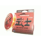 Kamikaze WARRIOR Japanese SuperGradeLine 150m 6lb ORANGE