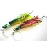 """KAMIKAZE - ATLANTIC DANCER 7"""" RIGGED GAME LURES -2PK GH"""