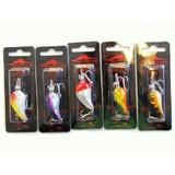 """Kamikaze """"X JERK MINI"""" Diver Lures 5 Pk 58mm"""
