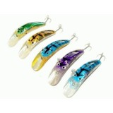 """Kamikaze """"XPSYCHO EYES SNR"""" Deep Dive rLures 5Pk 130mm Set B"""